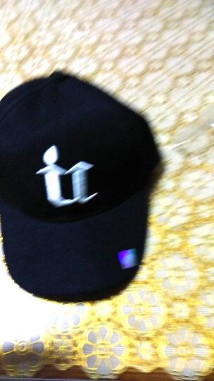 靓之都 帽子男冬季韩版潮时尚棒球帽男女户外防风遮阳帽太阳帽美职鸭舌帽棒帽子 U  黑色 晒单图