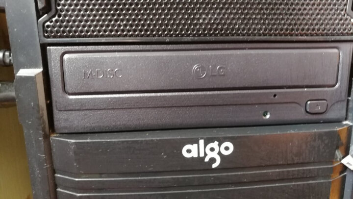 LG 电脑内置光驱 DVD光存储 SATA接口光磁 黑色 24X内置DVD刻录机 GH24NSC0 晒单图