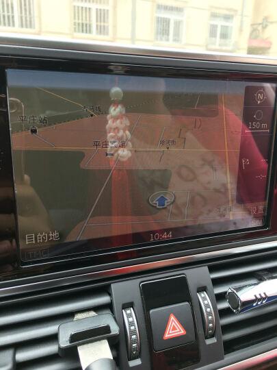 漾峦柚(yanluany)奥迪A6L 仪表盘膜 中控屏幕 导航钢化玻璃膜 保护膜贴膜 A6L(12-18年款)-仪表膜偏小2mm 晒单图