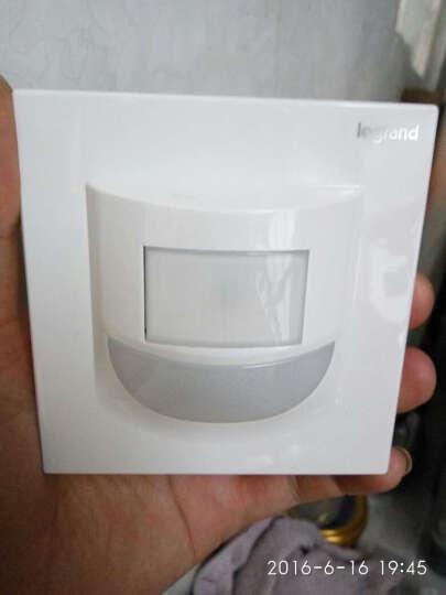 罗格朗开关插座面板 仕典逸景米兰金LED地脚灯带人体感应指示壁脚灯 楼道夜灯 晒单图