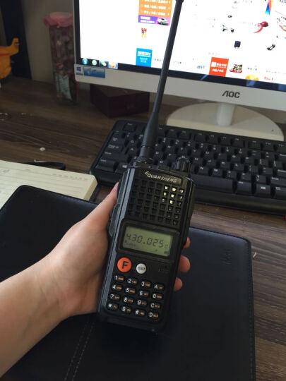 QUANSHENG 泉盛商用对讲机TG-K10AT  泉盛大金刚专业无线业余对讲机 10瓦大金刚标配+耳机 晒单图