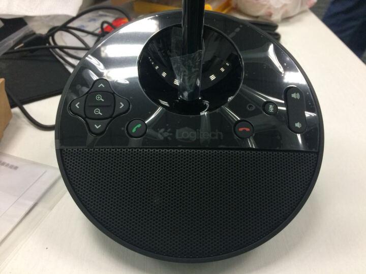 罗技(Logitech)BCC950 商务高清会议视频摄像头 黑色 晒单图
