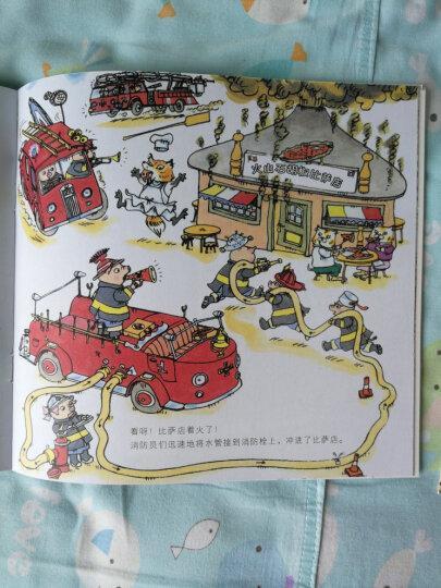 斯凯瑞金色童书第三辑(全三册)消防站的一天 警察局的一天 飞机场的一天  晒单图