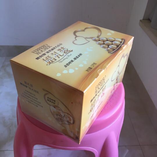 费列罗巧克力糖礼盒生日礼物女费雷罗费力罗浪漫结婚喜糖万圣节糖果礼盒情人节送女友礼盒礼品送男友礼物 费列罗96粒(婚庆装) 晒单图