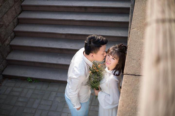 青岛帆映像婚纱摄影旅拍婚纱照拍摄三亚丽江结婚照团购工作室秒杀 5999全款 晒单图