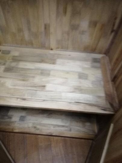 岭林(LINGLIN) 中式明清古典香樟木实木两门双门顶箱衣柜 梅兰竹菊定制1mW113 晒单图