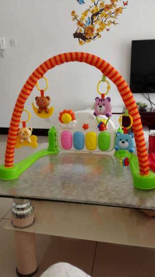 贝杰斯 婴儿健身架 早教益智0-1岁儿童脚踏钢琴音乐游戏毯宝宝玩具 201简易健身架 晒单图
