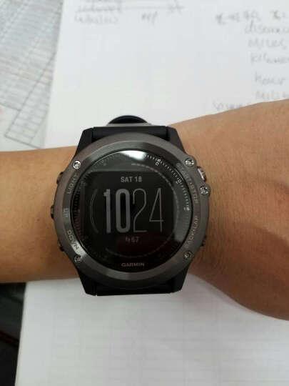 佳明(GARMIN)手表Fenix3飞耐时3HR光电心率户外跑步智能手表蓝宝石镜面光学心率英文版 晒单图