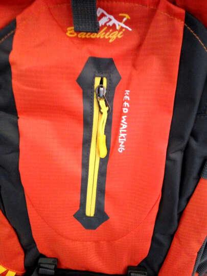户外尖锋(Huwaijianfeng) 户外尖峰 时尚户外背包登山包双肩背包旅行包40L 韩版橙色 晒单图