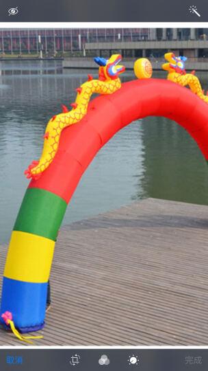 圣佰普通半圆拱门气模充气拱门彩虹门庆典用品 10米彩色+370W风机一个 晒单图