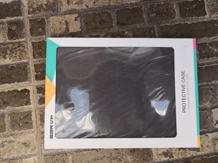 亿色(ESR)苹果iPad Air2/6保护套 平板电脑壳9.7英寸 全包轻薄防摔 至简原生系列 灰墨笔记【仅适用 Air2】 晒单图