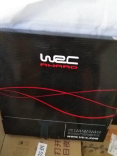WRC汽车运动色冰丝夏季方向盘套卡罗拉英朗大众途观轩逸雅阁汽车把套中号 黑白 晒单图