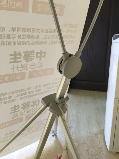 美式可调节X展架 60*160 80*180 80*200展架广告展架易拉宝户外画面可设计 60*160cm+写真画面 晒单图