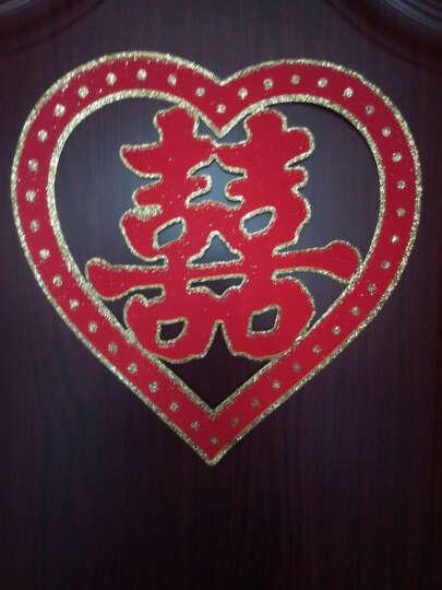 树宝之道结婚用品对联婚房场景装饰布置新房装扮道具植绒金粉婚联婚房装饰对联 1.1米金粉天作之合结良缘 永结同心成佳偶 晒单图