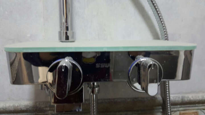 SSWW浪鲸卫浴马桶花洒套餐组合 座便器CO1115+花洒EFT13400 300坑距+圆形顶喷千城送货安装 地级市区免费送货入户并安装 晒单图