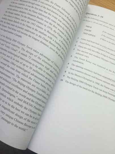 雅思阅读真经·5(剑10版) 晒单图