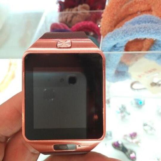 【赠送备用电池】半兽人 触屏智能手表手机蓝牙插卡电话手表 科技灰 晒单图