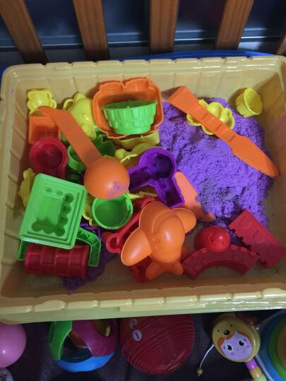 培培乐 太空泥 魔力彩沙玩具太空沙子套装橡皮泥彩泥模具套餐 36杯冰雪公主场景版+普通36色套装+珍珠泥 晒单图