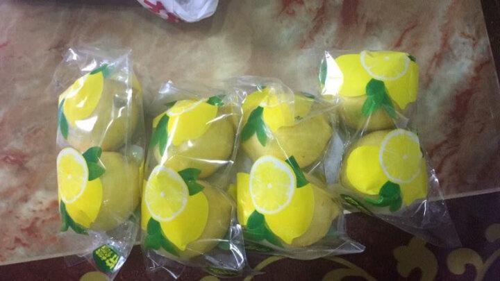 华润五丰 四川安岳黄柠檬8颗 一级大果 单果约100-120g 新鲜水果 晒单图