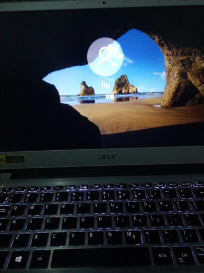 宏碁(Acer)蜂鸟Swift1全金属超轻薄本 13.3英寸笔记本电脑SF113(N3350 4G 128GSSD IPS 蓝牙 指纹识别)星光银 晒单图