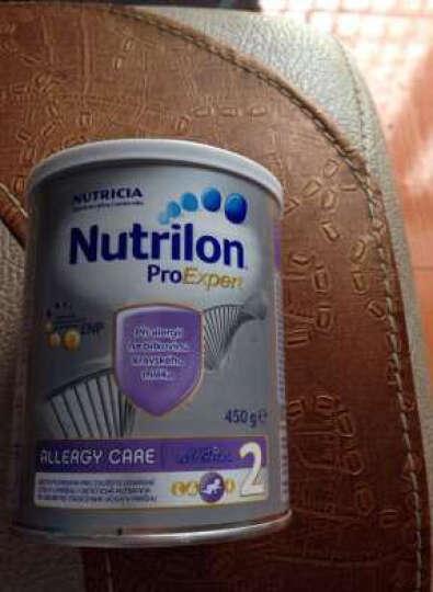 牛栏Nutrilon 欧洲进口直邮 诺优能白金版 婴幼儿深度水解奶粉 2段   450g 晒单图