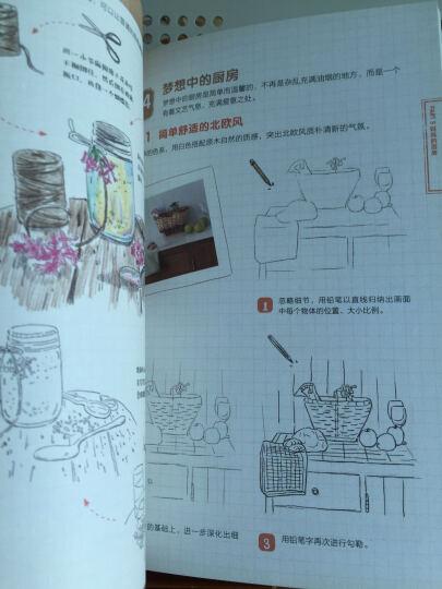 色铅笔的温情手绘,我的美食手账 晒单图