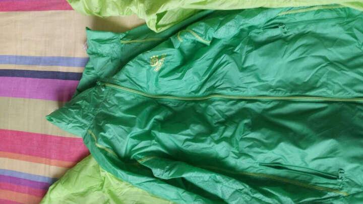 探拓(TECTOP) 皮肤风衣户外防晒衣服装男女情侣夏季透明薄款休闲外套钓鱼防泼水速干衣 黄果绿-女 XXL 晒单图