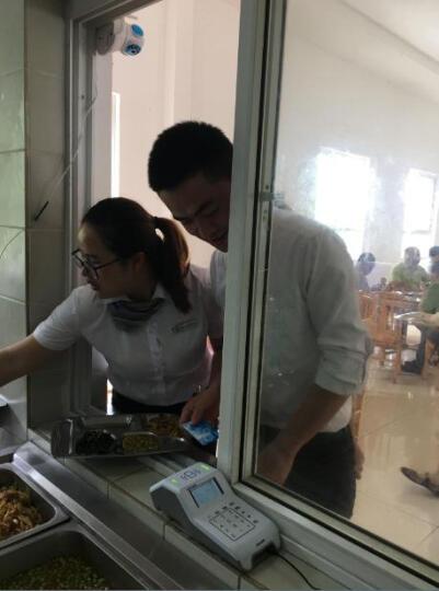 智新(zisine)云食堂刷卡机 消费机 售饭机 打卡机 IC卡 HID卡 饭卡机 收费机 GPRS模块 晒单图