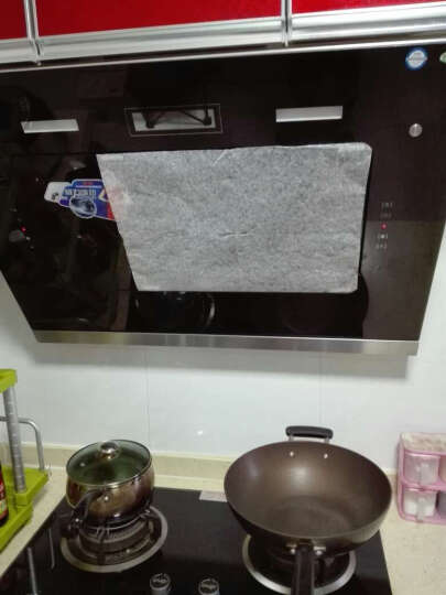 厨房可换油烟机吸油棉 防油污过滤棉 无纺布吸油纸 2片装 晒单图
