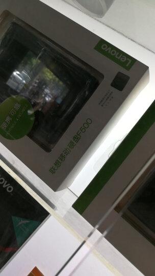 联想(Lenovo)1TB USB3.0 移动硬盘 F500 2.5英寸 曜石黑 便携小巧耐用 时尚镜面处理 晒单图