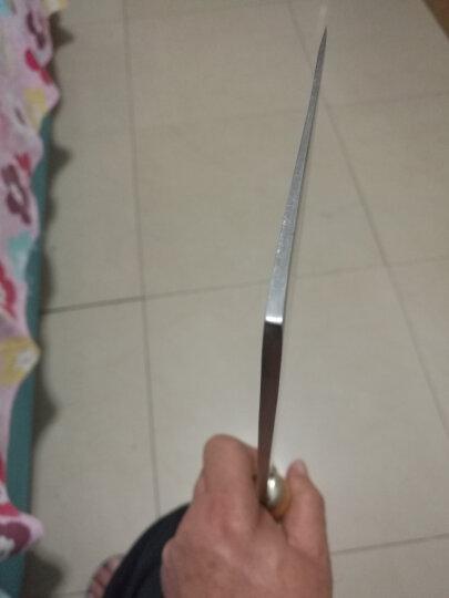 王麻子 2#碳钢菜刀 斩切刀DA12-1把手颜色随机发送 晒单图