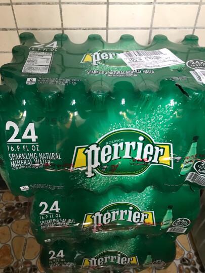 法国进口 巴黎水(Perrier) 气泡矿泉水 原味 塑料瓶装 整箱装 500ml/瓶*24瓶 晒单图