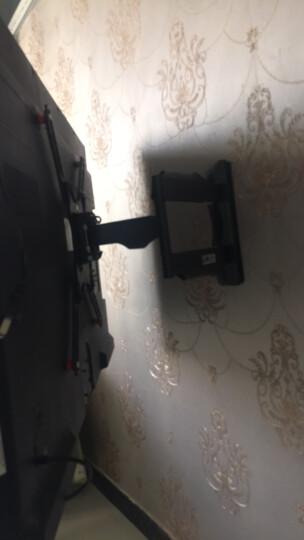 NB F350(40-50英寸)电视挂架电视架电视支架旋转伸缩气弹簧上下升降夏普飞利浦海信40/43/48/49/50/42银色 晒单图