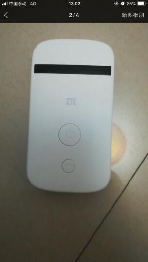 中兴(ZTE)三网4g无线路由器上网卡托 车载移动随身随行wifi MF90C1+全年卡月享500G 晒单图