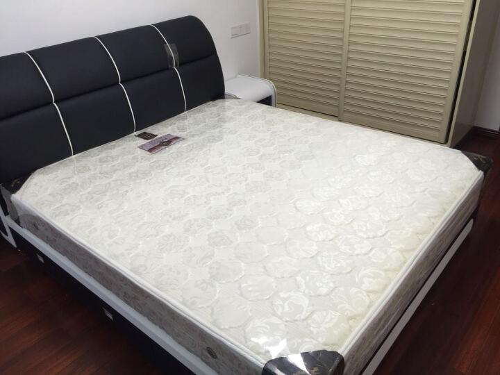 铂尼诗(bonishi) 铂尼诗 创意床 简约现代皮床 双人床 婚床 小户型储物床 皮艺 6色可选 1.8米*2米 床+乳胶床垫+床头柜*1 晒单图