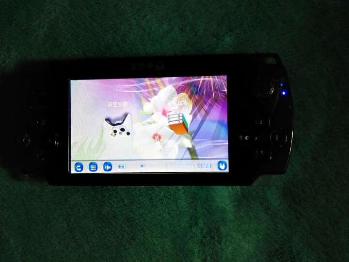 小霸王掌机PSP游戏机 4.3英寸触屏儿童GBA街机王内置万款经典游戏摄像MP5 白色8G标配+16G卡 晒单图