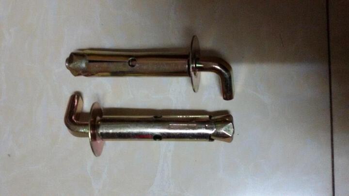 金凯欧 墙挂重型螺栓螺钉挂钩品牌电热水器   膨胀螺丝 国标90度2只 晒单图