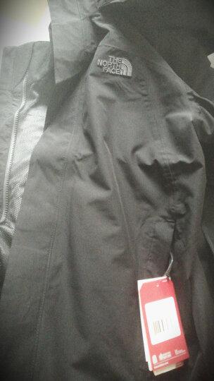 北面经典款冲锋衣男 The North Face 防水透气耐磨防风雨外套 2UBL 2UBL|黑色JK3【可挂内胆】 L-175 晒单图