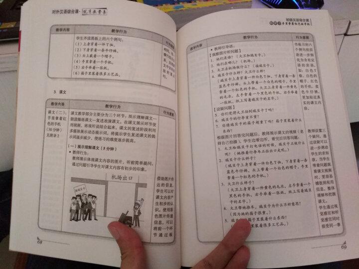 北语对外汉语教学法研究丛书:对外汉语综合课优秀教案集 晒单图