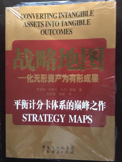 战略地图--化无形资产为有形成果 晒单图