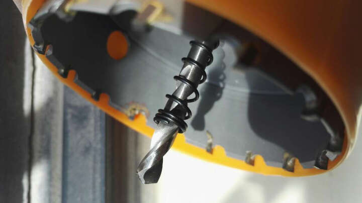 贝诺斯开孔器合金开孔器不锈钢开孔器金属开孔器1#硬质合金不锈钢开孔器空心钻头深孔钻 85MM 晒单图