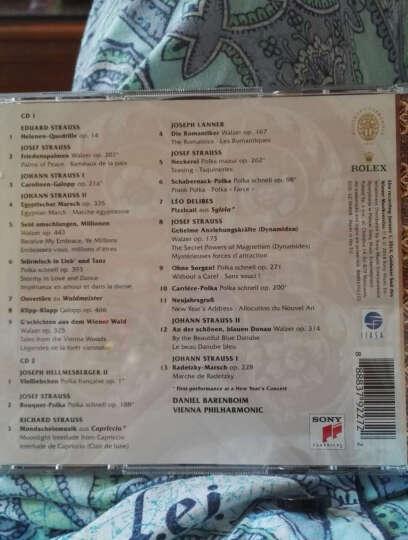 进口CD 2014年维也纳新年音乐会:巴伦博伊姆指挥(2CD) 晒单图