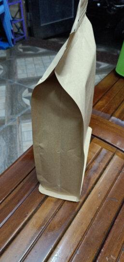 茶叶八边封袋红枣包装袋镀铝牛皮纸袋食品自封袋牛皮纸自立风琴袋 镀铝牛皮八边封 20*30+8 晒单图