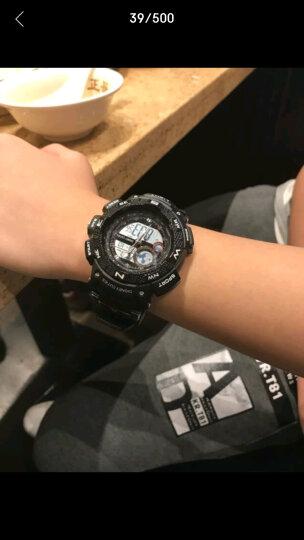 迪士尼(Disney)手表女学生 电子表防水户外运动女生 双显夜光青少年女表儿童手表MK-15052P 晒单图