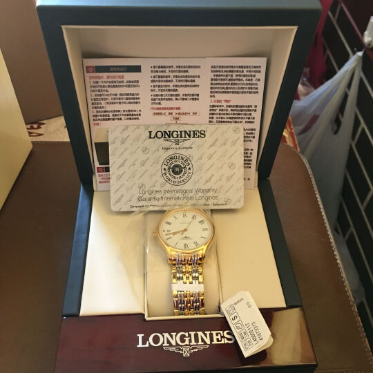 浪琴(Longines)瑞士手表 律雅系列机械男表L4.860.2.11.7 晒单图