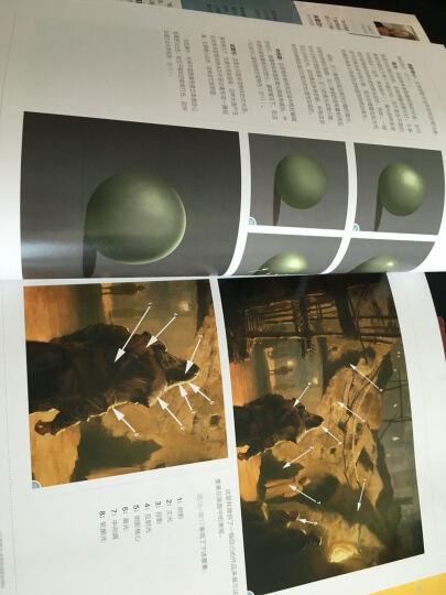 概念艺术家的30堂视觉表现课:色彩·光影·构图·解剖·透视·景深 晒单图