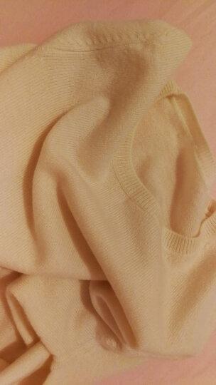 思诺芙德秋冬女装新品山羊绒衫女时尚套头圆领打底衫百搭修身毛衣 轻雅灰 100/M 晒单图