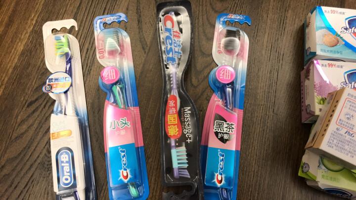 佳洁士(CREST) 优能健齿牙刷软刷毛 保护牙龈清洁口腔清洁难刷部位 晒单图