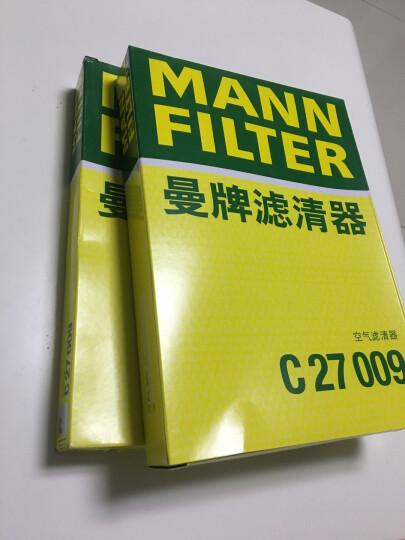 曼牌(MANNFILTER)空气滤清器C3880(宝来/速腾/高尔夫6/Cross POLO/朗逸/波罗/进口高尔夫V/VI/明锐) 晒单图