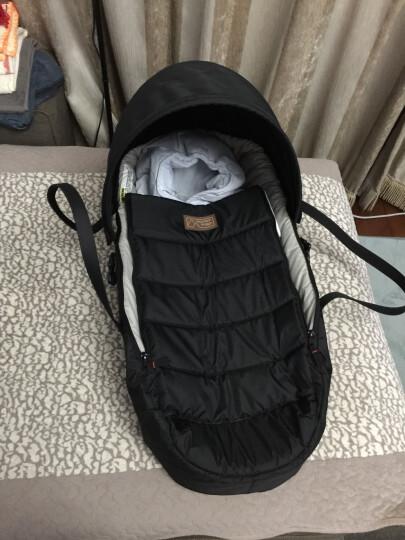 史威比(Sweeby) 婴儿抱被秋冬纯棉宝宝包被新生儿用品初生儿防惊跳襁褓BB防踢被睡袋 蓝色 晒单图